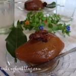 Сладко от Цели Круши Пълнени с Орехи