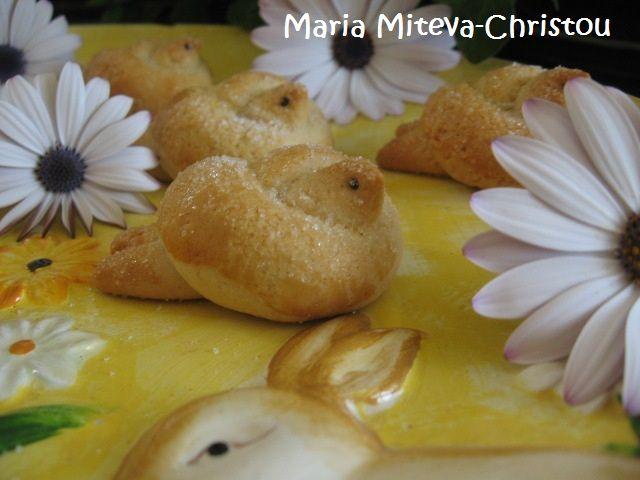 Бабини Великденски Курабии като Лястовички