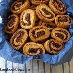 Лешникови Рулца с Фурми - date and walnut scrolls