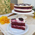 Торта червено кадифе с малини (Red Velvet Cake)