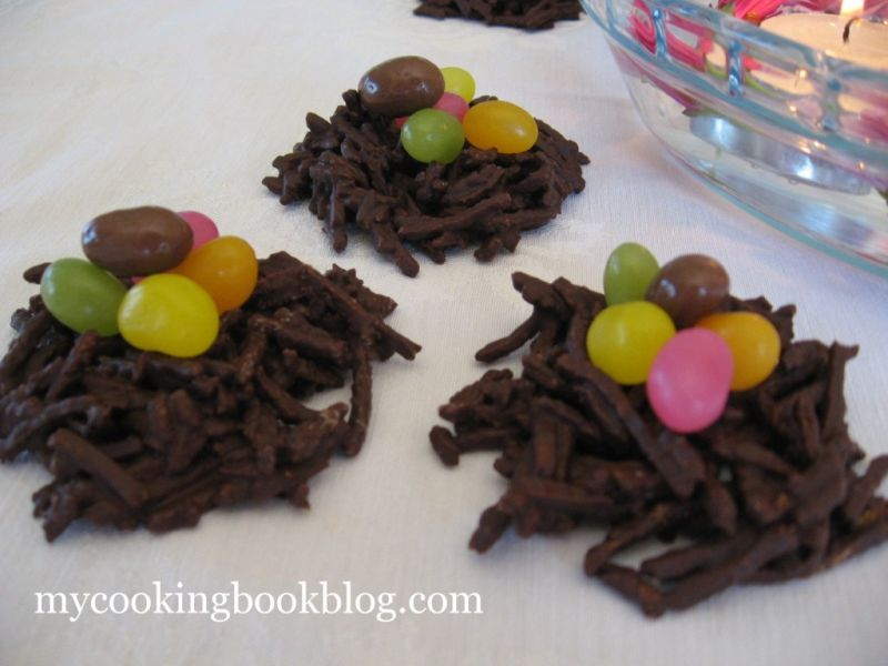 Шоколадови Гнезда със Яйчица