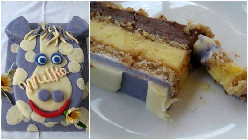 Торта Крава Milka