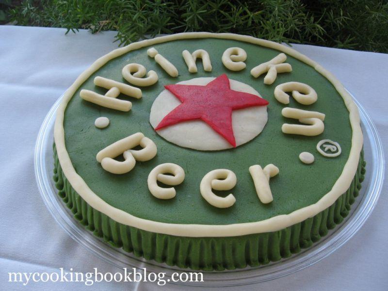 Торта Бирена Капачка Heineken