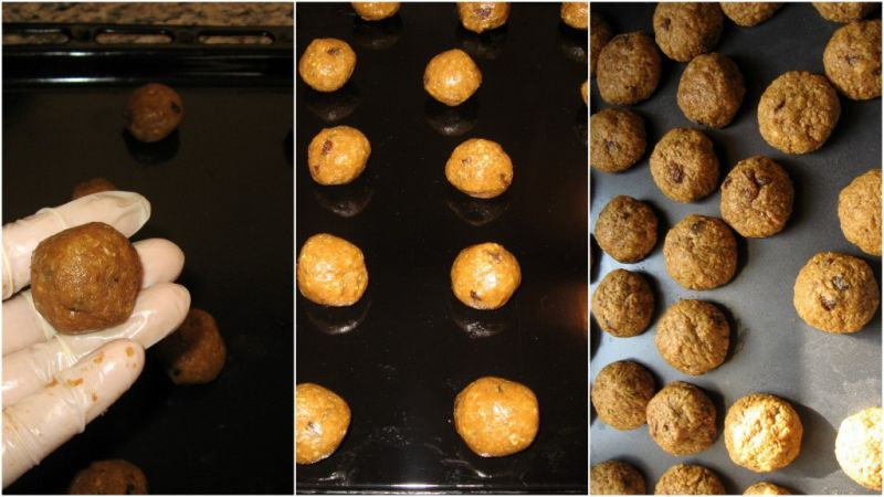 Пълнозърнести Бисквити с Орехи, Стафиди, Розмарин и Кокос