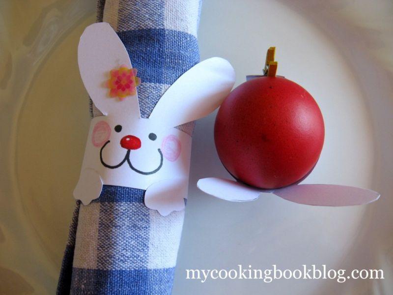Великденски Апликаци за Декорация на Маса