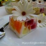 Желиран десерт Мозайка