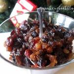 Как се прави Mince meat или ароматна плънка с ябълки и сухи плодове
