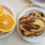 Кекс с портокалов сок