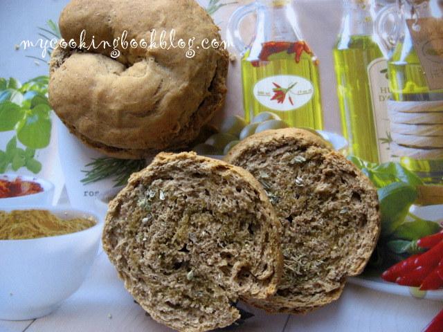 Ечемичени Паксимадя (Παξιμάδια) и Дакос (ντάκος)