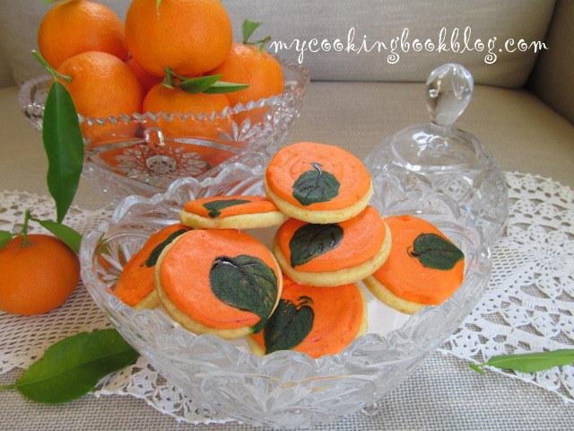 Мандаринови бисквити