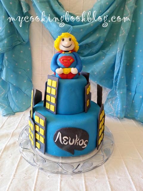 Торта със Супермен