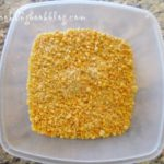 Смес от портокалови кори, бадеми и захар