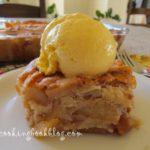 Лесен десерт с много ябълки