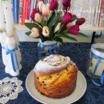Кулич или сладък Руски Великденски хляб