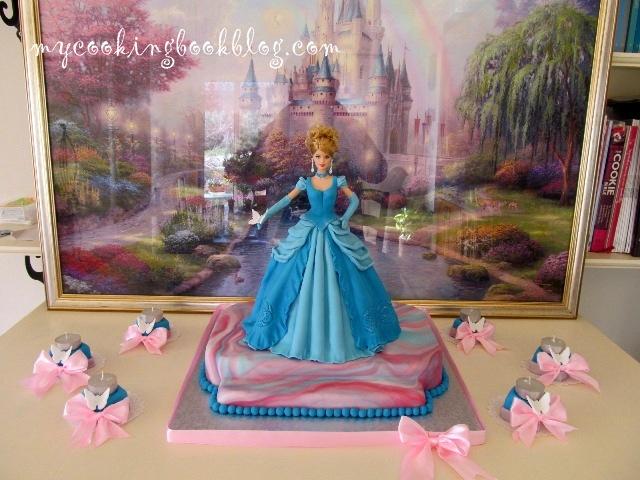 Торта Пепеляшка (Cinderella Cake)