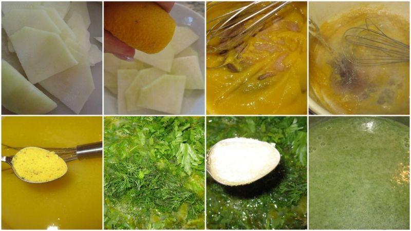 Зелена Пролетна Крем-супа