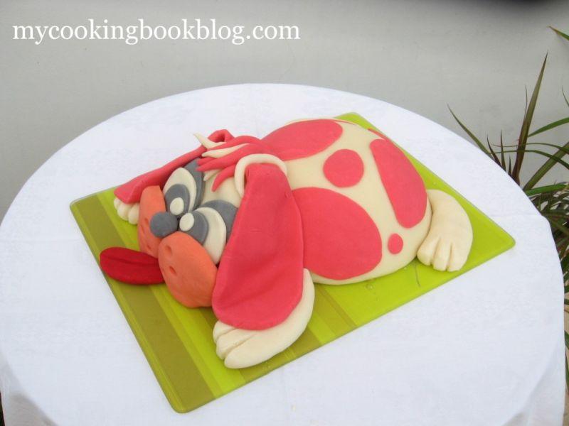 Торта за Принцеса - Торта Куче