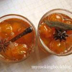 Сладко от Кумкуат (Kumquat) с анасон и канела