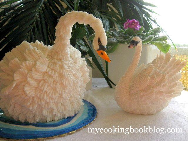 Торта Лебед