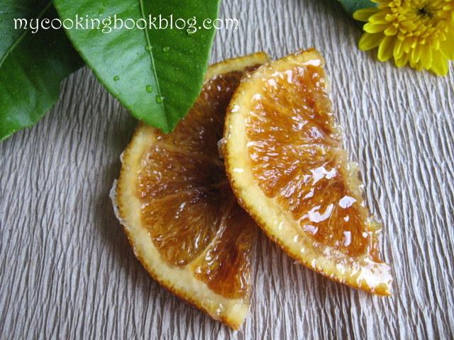 Как се правят захаросани (карамелени) портокалови резени