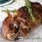 Печен агнешки бут с розмарин, чесън, лимон и зехтинhttp://www.mycookingbookblog.com/?p=17085