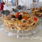 Коледен кейк с бисквити