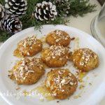 Меломакарона (μελομακάρονα) със сок от мандарини
