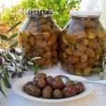 Големи, кисели (туршия) зелени маслини