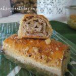 Баклава на рула с натурален сусамов тахан и орехи