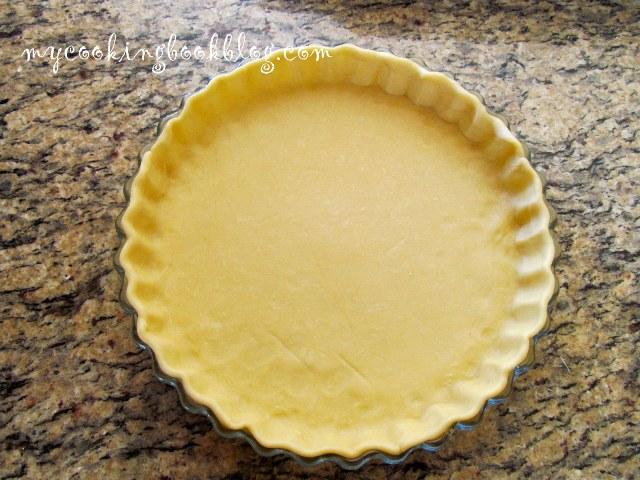 Тесто за основа на флан Pâte à foncer (flan pastry)