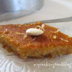 Постен сладкиш Самали (Σάμαλι) с портокалов сок
