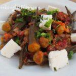 Бамя с домати на фурна