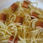 Спагети с кренвирши